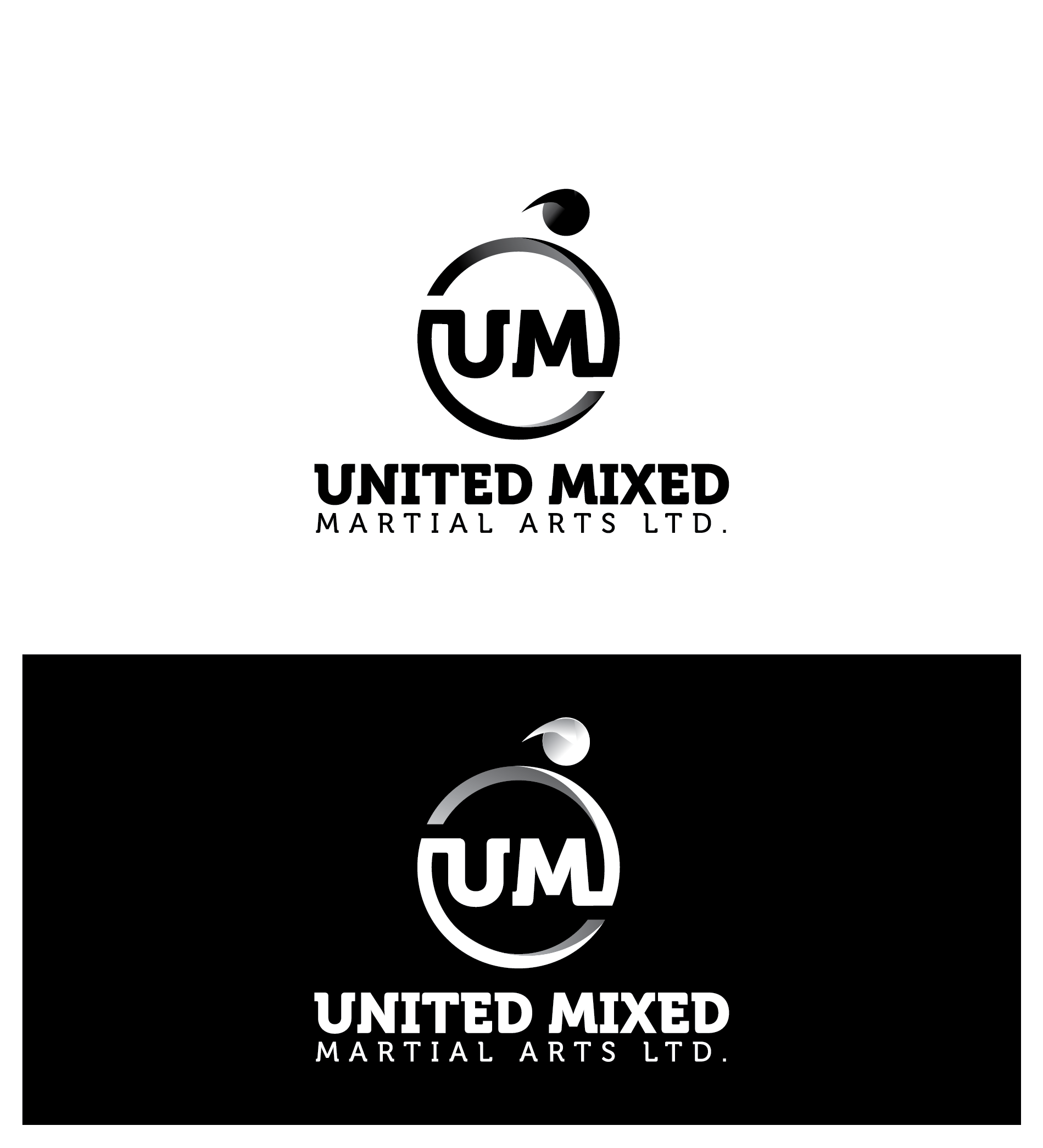 Logo Design by Prohor Ghagra - Entry No. 75 in the Logo Design Contest Artistic Logo Design for United Mixed Martial Arts Ltd..
