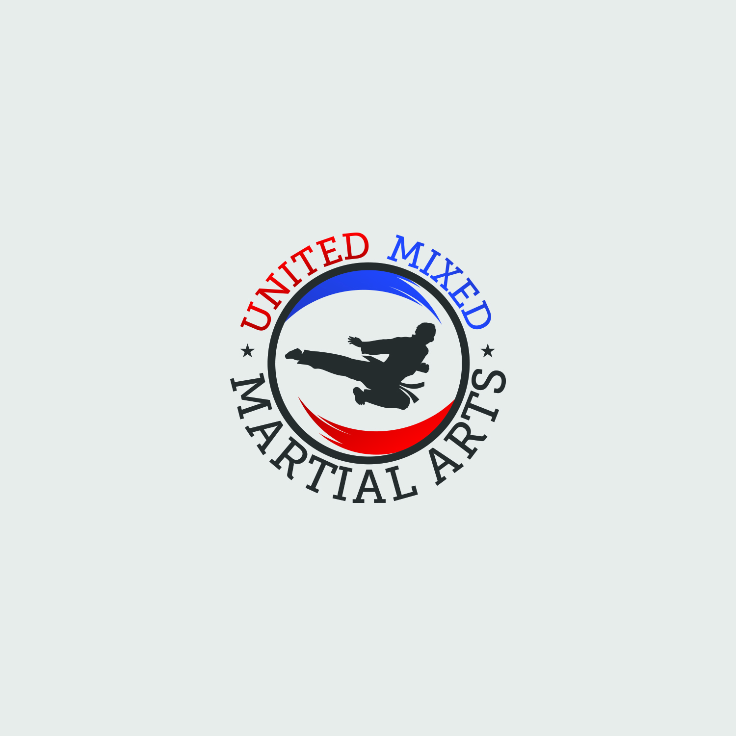 Logo Design by Umair ahmed Iqbal - Entry No. 78 in the Logo Design Contest Artistic Logo Design for United Mixed Martial Arts Ltd..