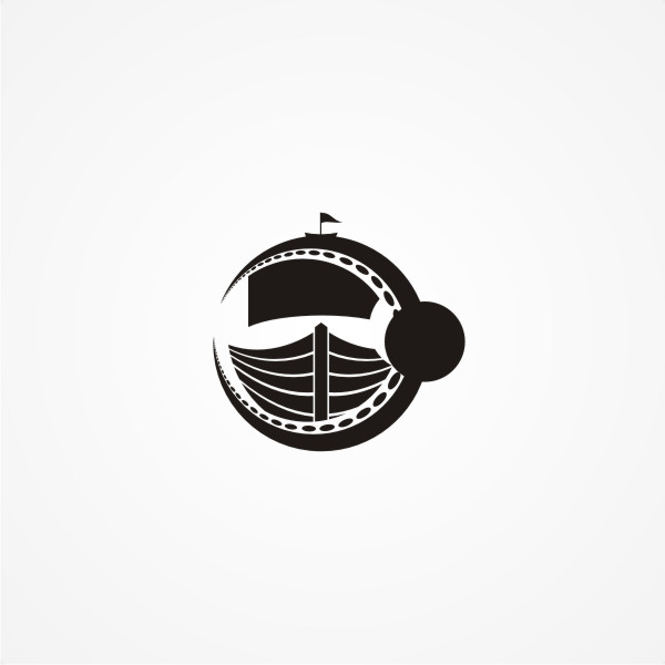 Logo Design by Private User - Entry No. 12 in the Logo Design Contest Sea Monster Attacks Ship.