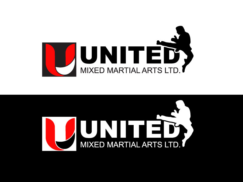 Logo Design by Private User - Entry No. 86 in the Logo Design Contest Artistic Logo Design for United Mixed Martial Arts Ltd..
