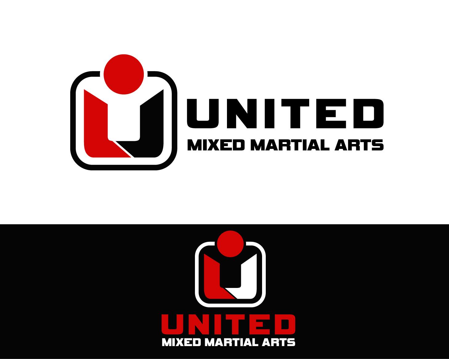 Logo Design by Allan Esclamado - Entry No. 90 in the Logo Design Contest Artistic Logo Design for United Mixed Martial Arts Ltd..