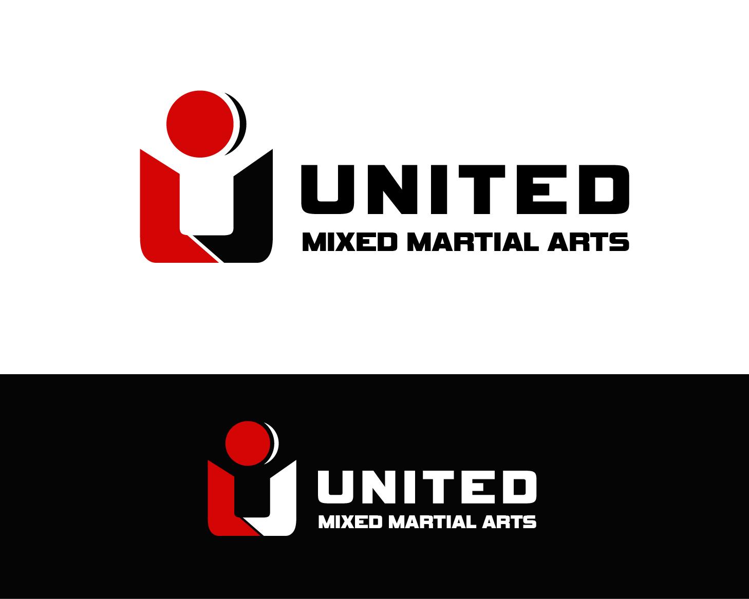 Logo Design by Allan Esclamado - Entry No. 91 in the Logo Design Contest Artistic Logo Design for United Mixed Martial Arts Ltd..