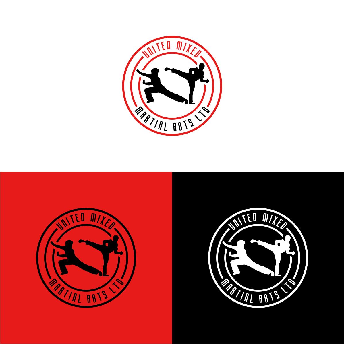 Logo Design by Analla Art - Entry No. 96 in the Logo Design Contest Artistic Logo Design for United Mixed Martial Arts Ltd..