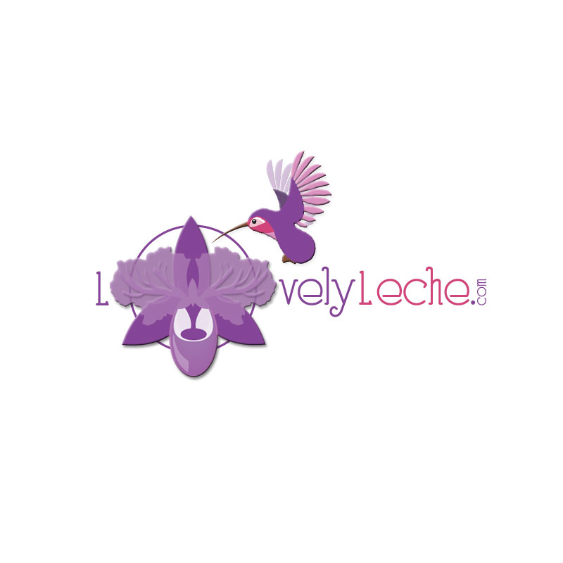 Logo Design by Olga Virko - Entry No. 61 in the Logo Design Contest Lovely Leche.com.