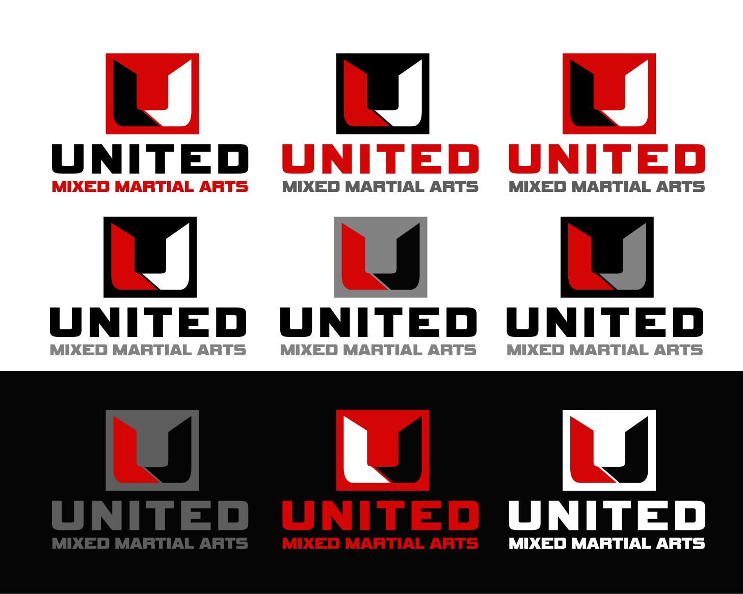 Logo Design by Allan Esclamado - Entry No. 101 in the Logo Design Contest Artistic Logo Design for United Mixed Martial Arts Ltd..