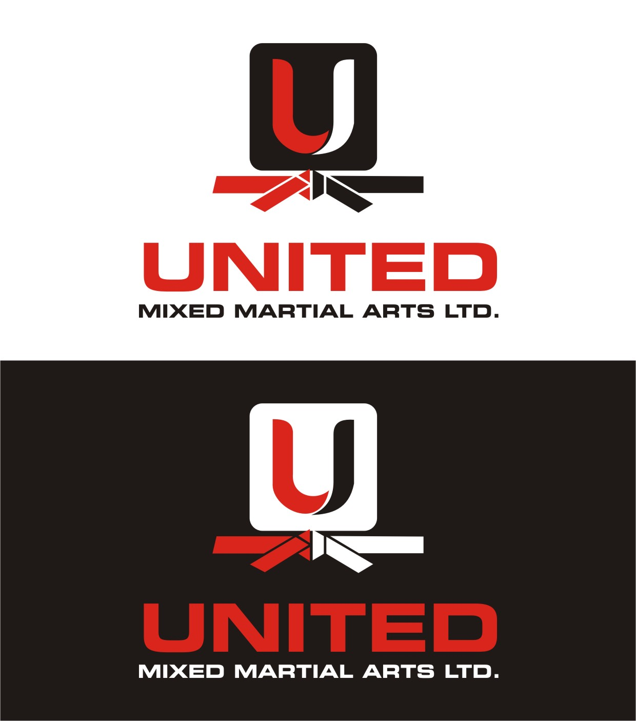 Logo Design by Spider Graphics - Entry No. 107 in the Logo Design Contest Artistic Logo Design for United Mixed Martial Arts Ltd..