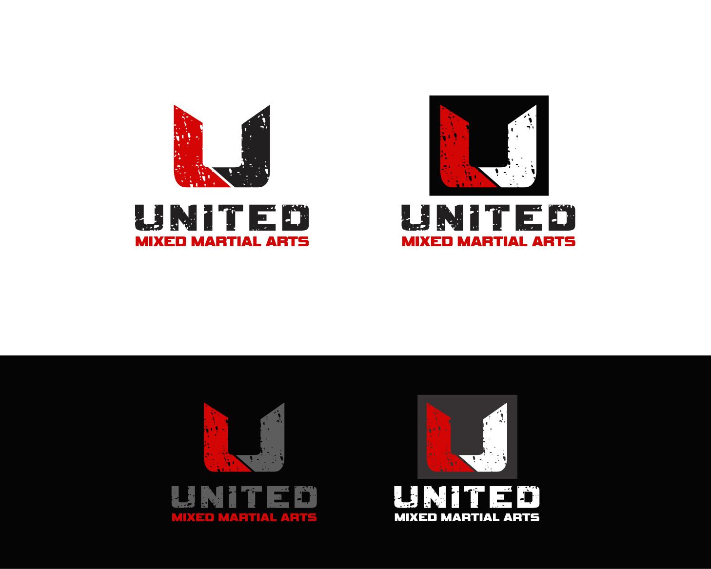 Logo Design by Allan Esclamado - Entry No. 110 in the Logo Design Contest Artistic Logo Design for United Mixed Martial Arts Ltd..