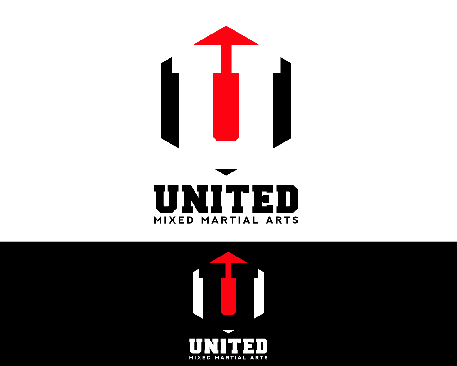 Logo Design by chAnDOS - Entry No. 114 in the Logo Design Contest Artistic Logo Design for United Mixed Martial Arts Ltd..