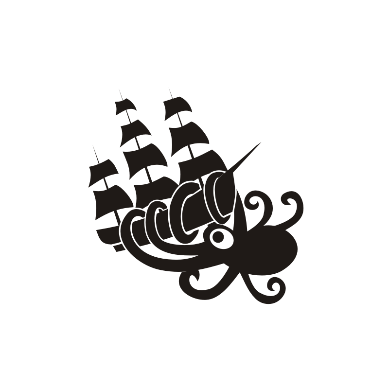Logo Design by asti - Entry No. 17 in the Logo Design Contest Sea Monster Attacks Ship.