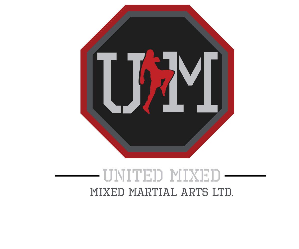 Logo Design by Asha19 - Entry No. 117 in the Logo Design Contest Artistic Logo Design for United Mixed Martial Arts Ltd..