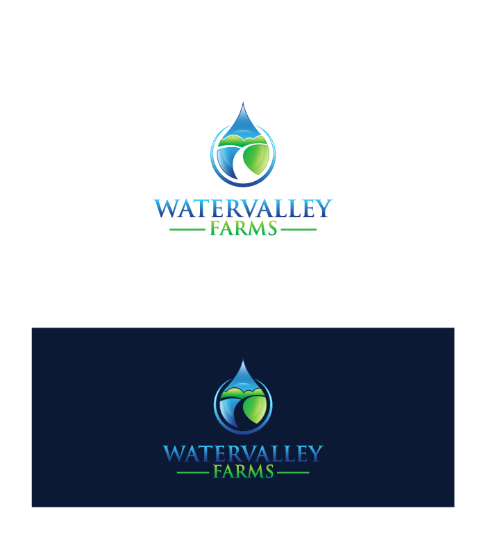 Logo Design by Tauhid Shaikh - Entry No. 2 in the Logo Design Contest New Logo Design for Watervalley Farms.