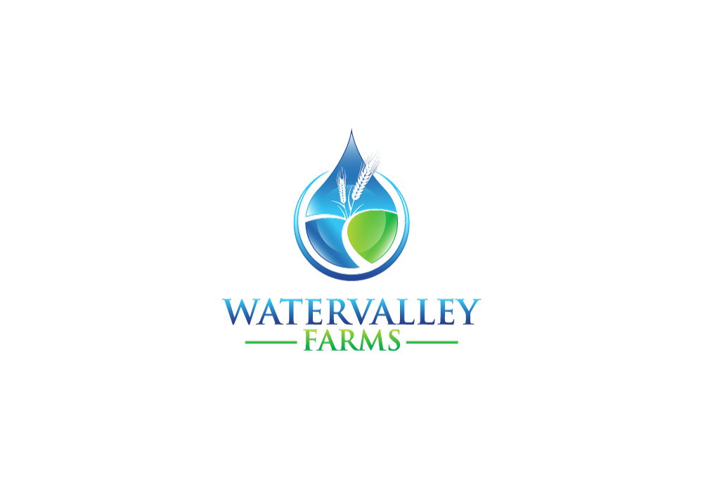Logo Design by Tauhid Shaikh - Entry No. 14 in the Logo Design Contest New Logo Design for Watervalley Farms.