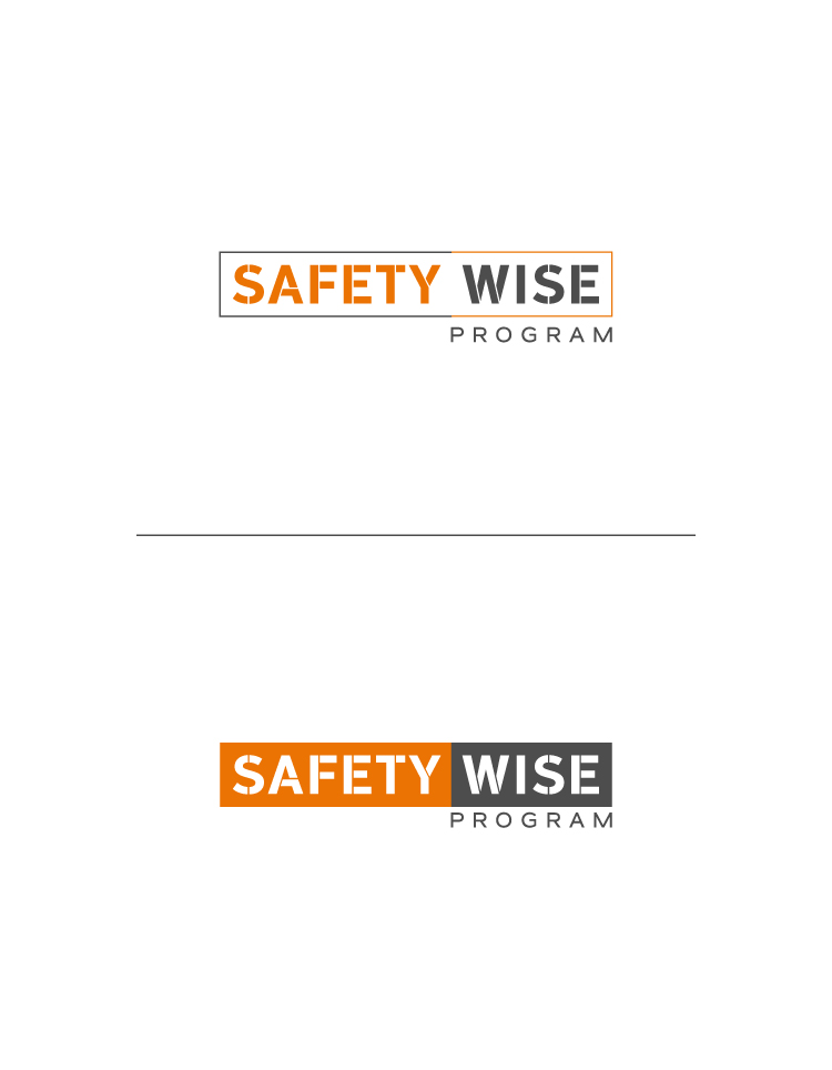 Logo Design by Tauhid Shaikh - Entry No. 5 in the Logo Design Contest New Logo Design for Safety Wise Program.