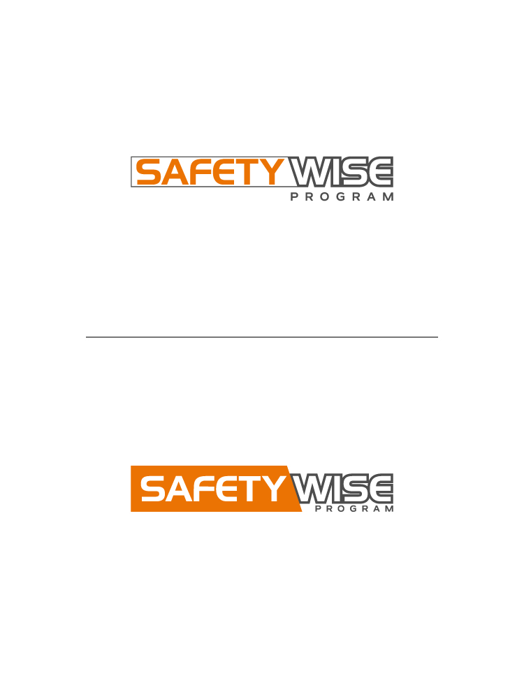 Logo Design by Tauhid Shaikh - Entry No. 6 in the Logo Design Contest New Logo Design for Safety Wise Program.