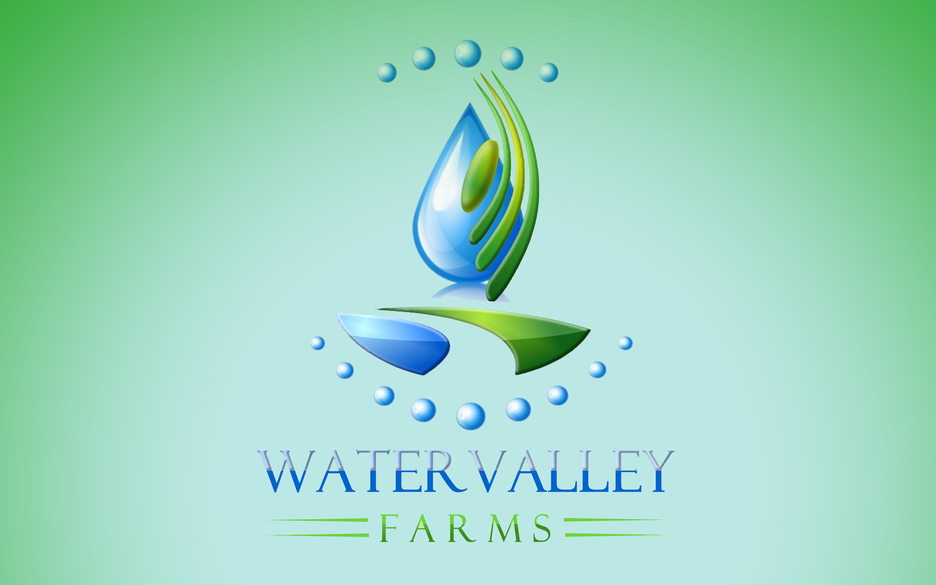 Logo Design by Roberto Bassi - Entry No. 27 in the Logo Design Contest New Logo Design for Watervalley Farms.