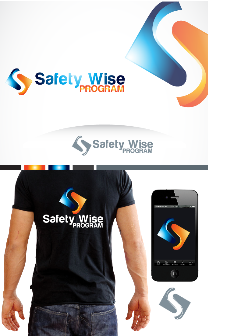 Logo Design by Private User - Entry No. 26 in the Logo Design Contest New Logo Design for Safety Wise Program.
