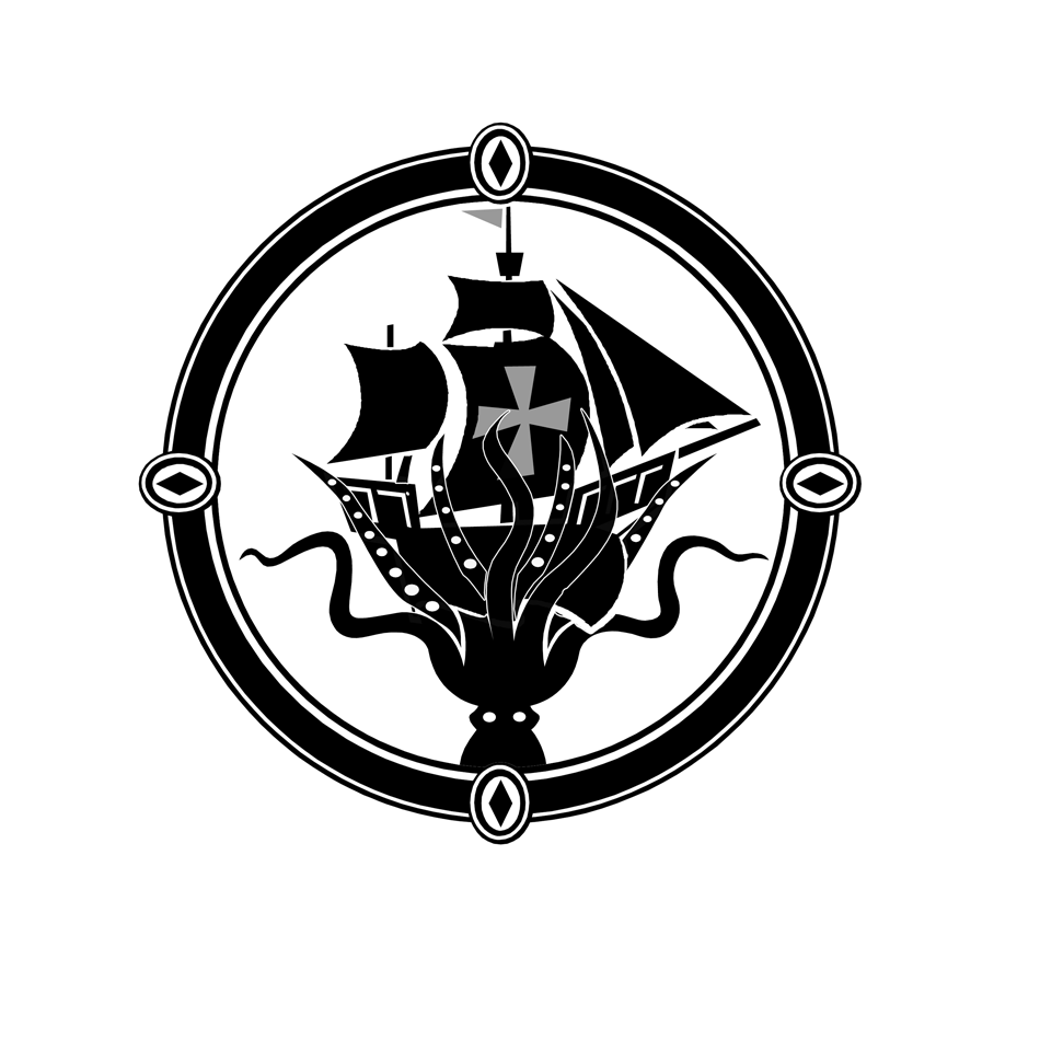 Logo Design by keekee360 - Entry No. 21 in the Logo Design Contest Sea Monster Attacks Ship.