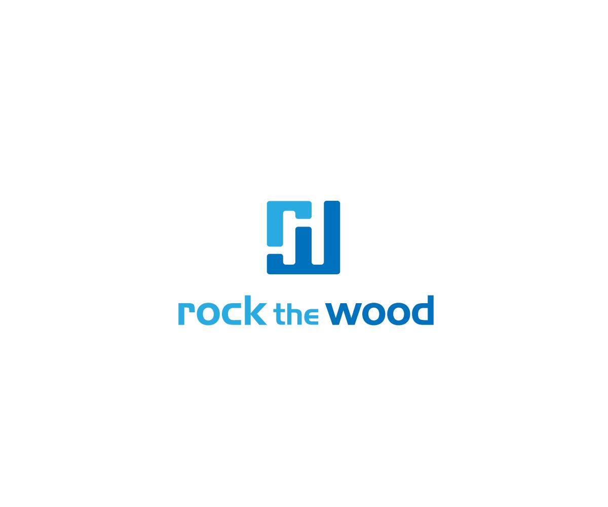 Logo Design by Juan Luna - Entry No. 1 in the Logo Design Contest New Logo Design for Rock the Wood.