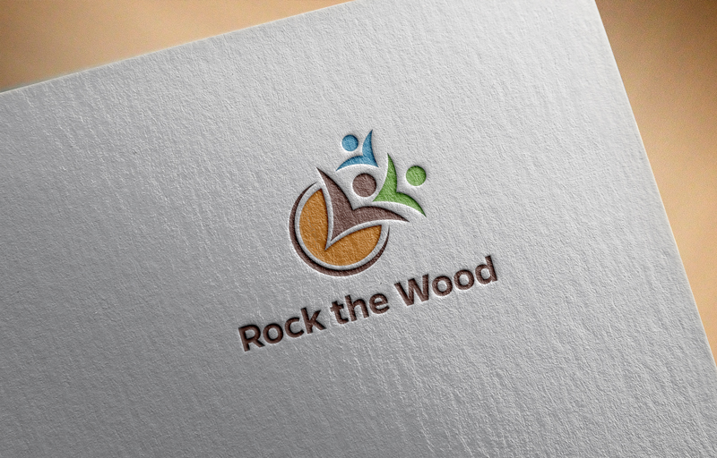 Logo Design by Tauhid Shaikh - Entry No. 16 in the Logo Design Contest New Logo Design for Rock the Wood.