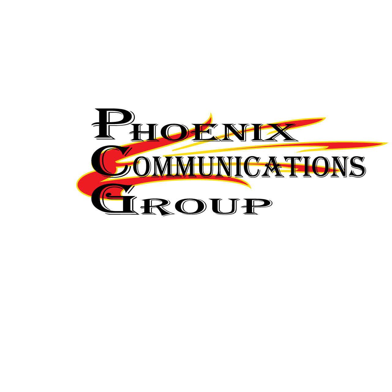 Logo Design by Ethan Waller - Entry No. 15 in the Logo Design Contest Phoenix Communications Group.