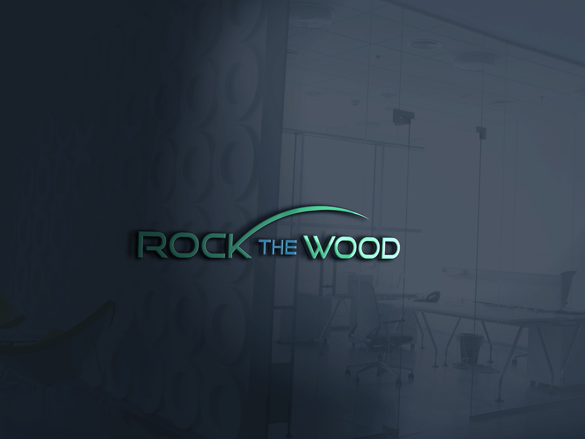 Logo Design by Prohor Ghagra - Entry No. 22 in the Logo Design Contest New Logo Design for Rock the Wood.
