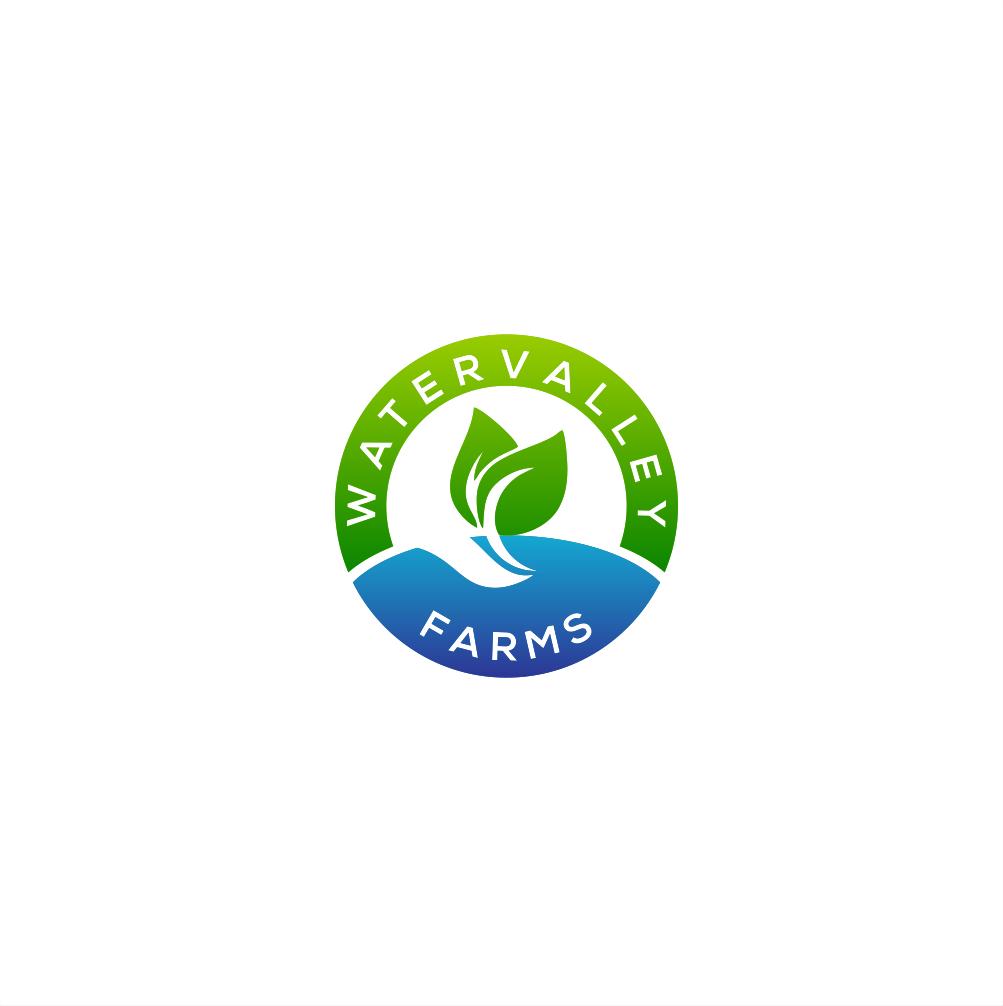 Logo Design by Amar Makruf - Entry No. 58 in the Logo Design Contest New Logo Design for Watervalley Farms.