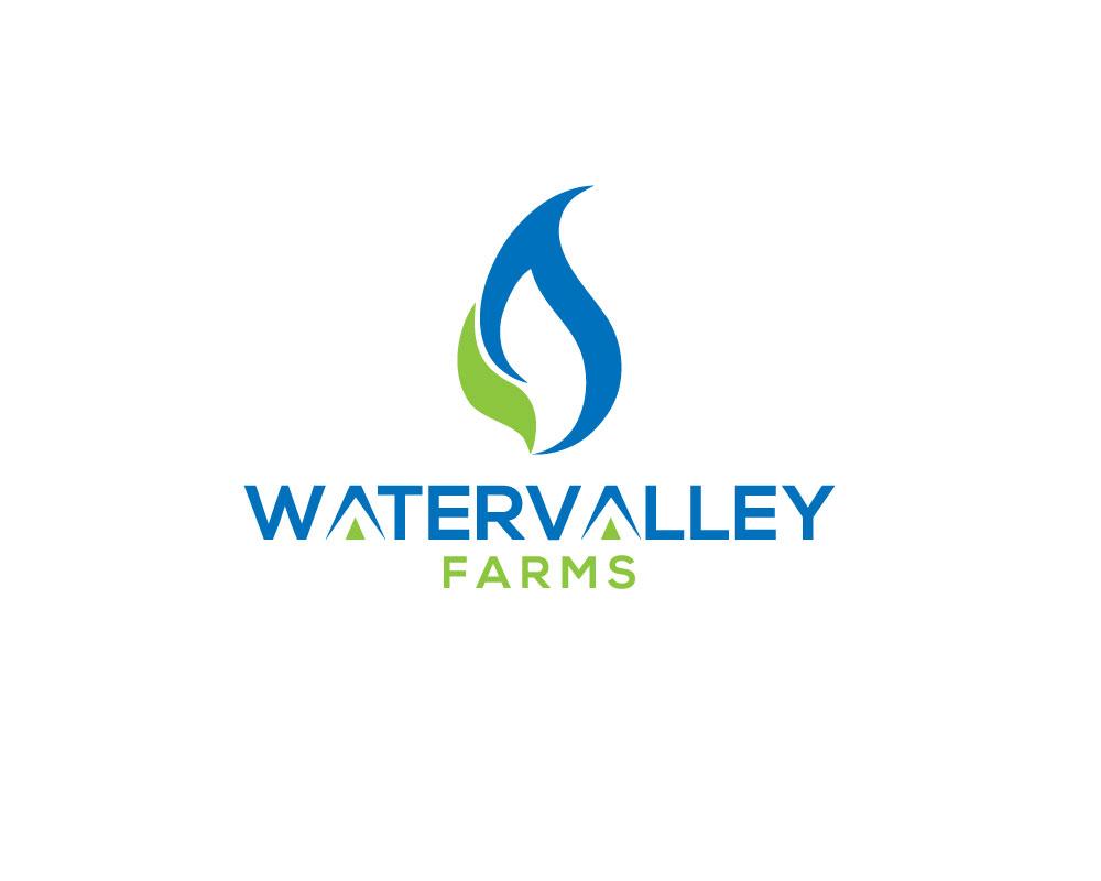 Logo Design by Mohammad azad Hossain - Entry No. 66 in the Logo Design Contest New Logo Design for Watervalley Farms.