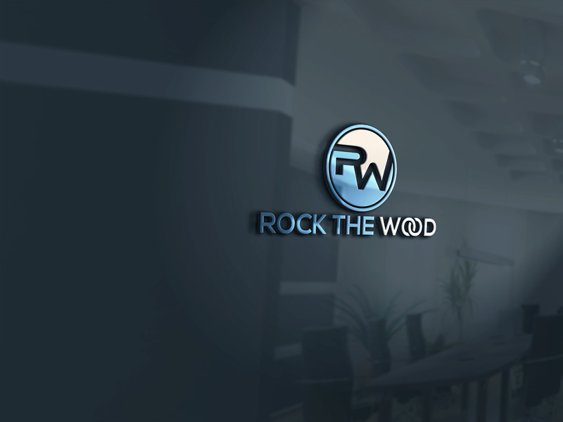 Logo Design by Private User - Entry No. 30 in the Logo Design Contest New Logo Design for Rock the Wood.