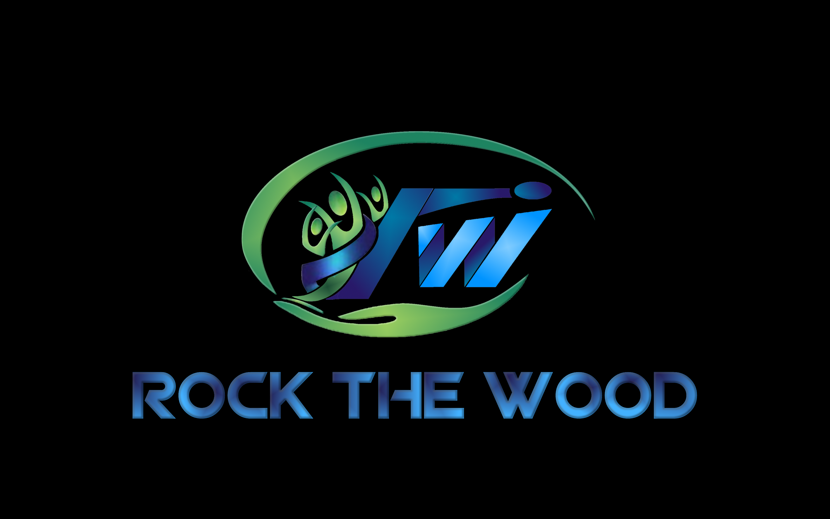 Logo Design by Roberto Bassi - Entry No. 33 in the Logo Design Contest New Logo Design for Rock the Wood.