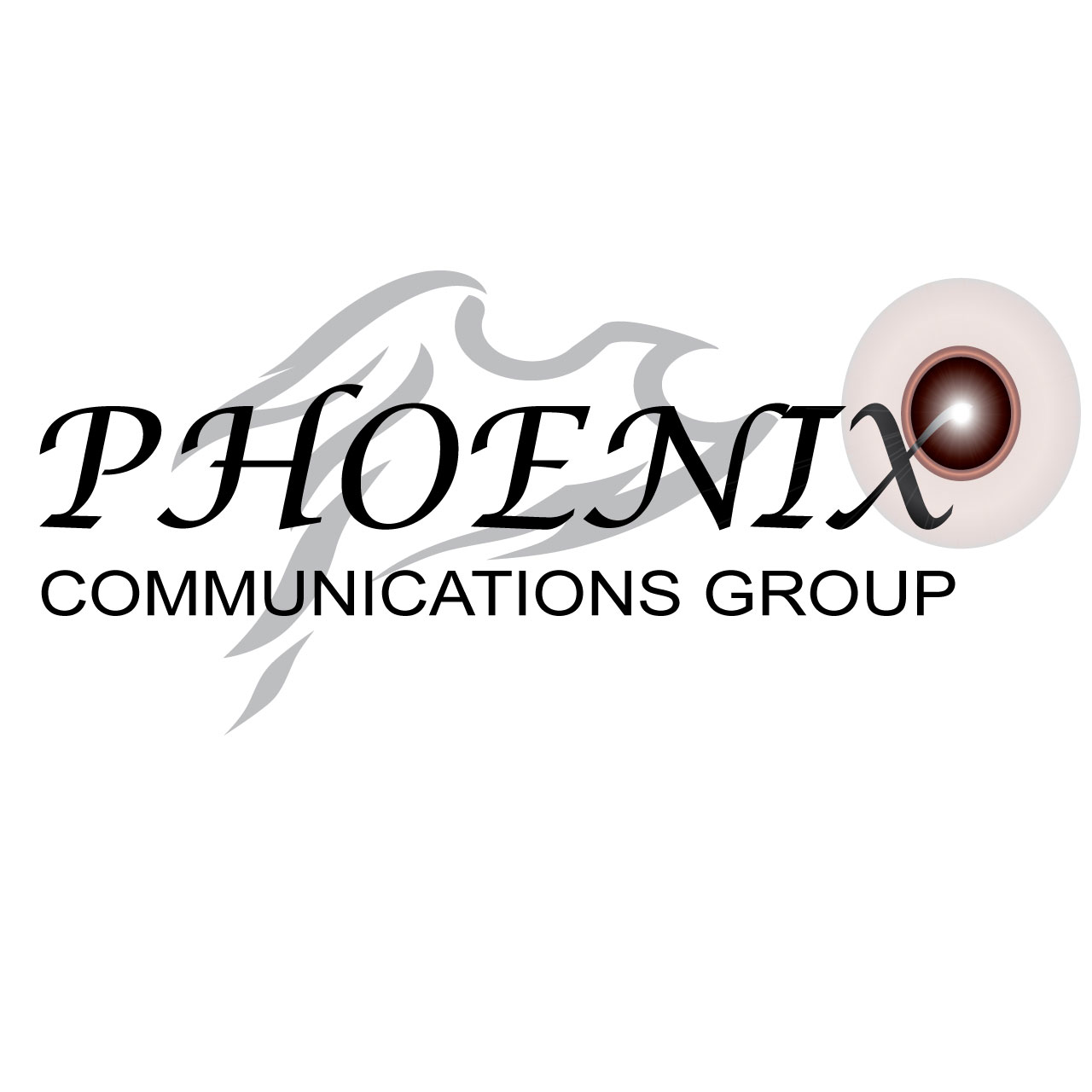 Logo Design by Ethan Waller - Entry No. 16 in the Logo Design Contest Phoenix Communications Group.