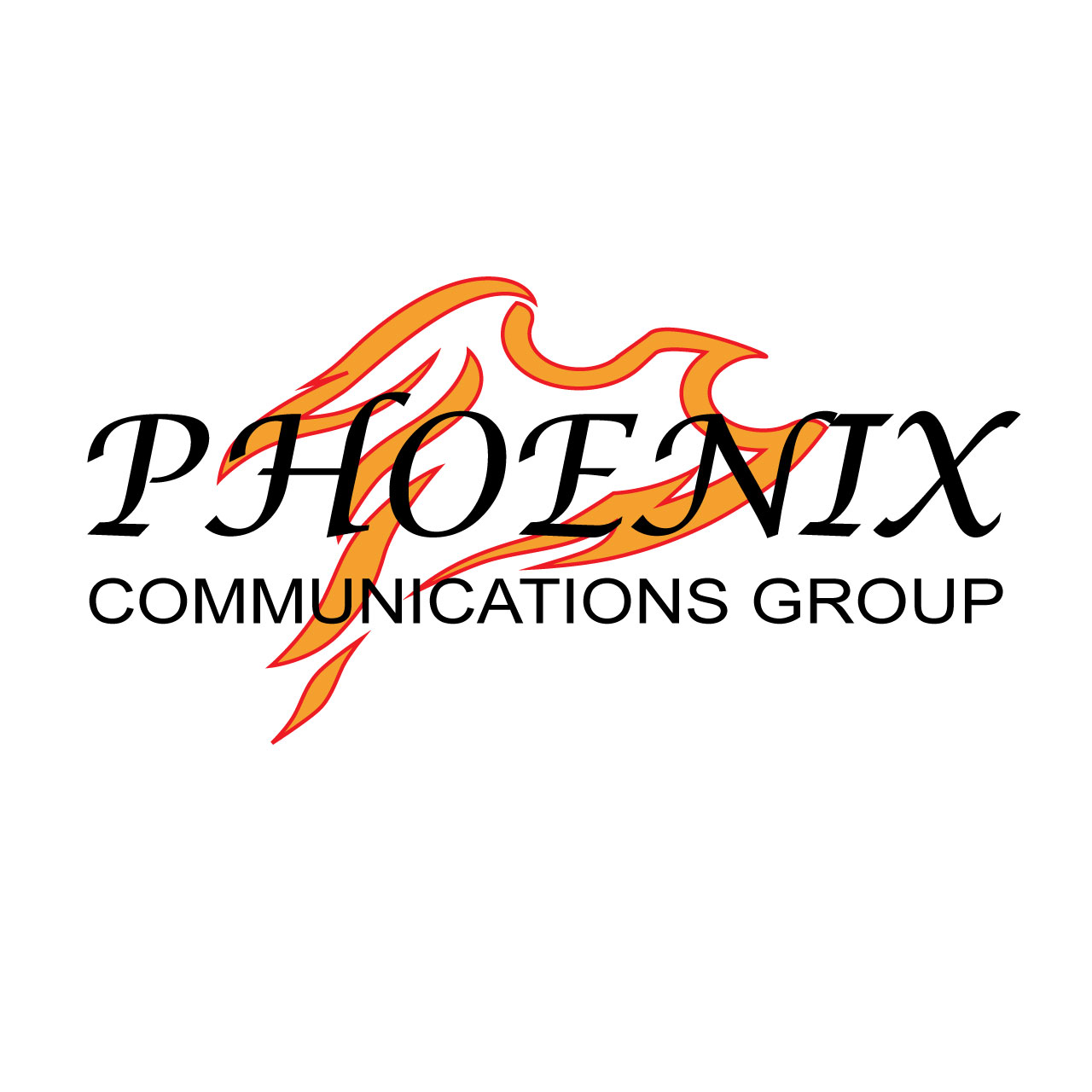 Logo Design by Ethan Waller - Entry No. 17 in the Logo Design Contest Phoenix Communications Group.