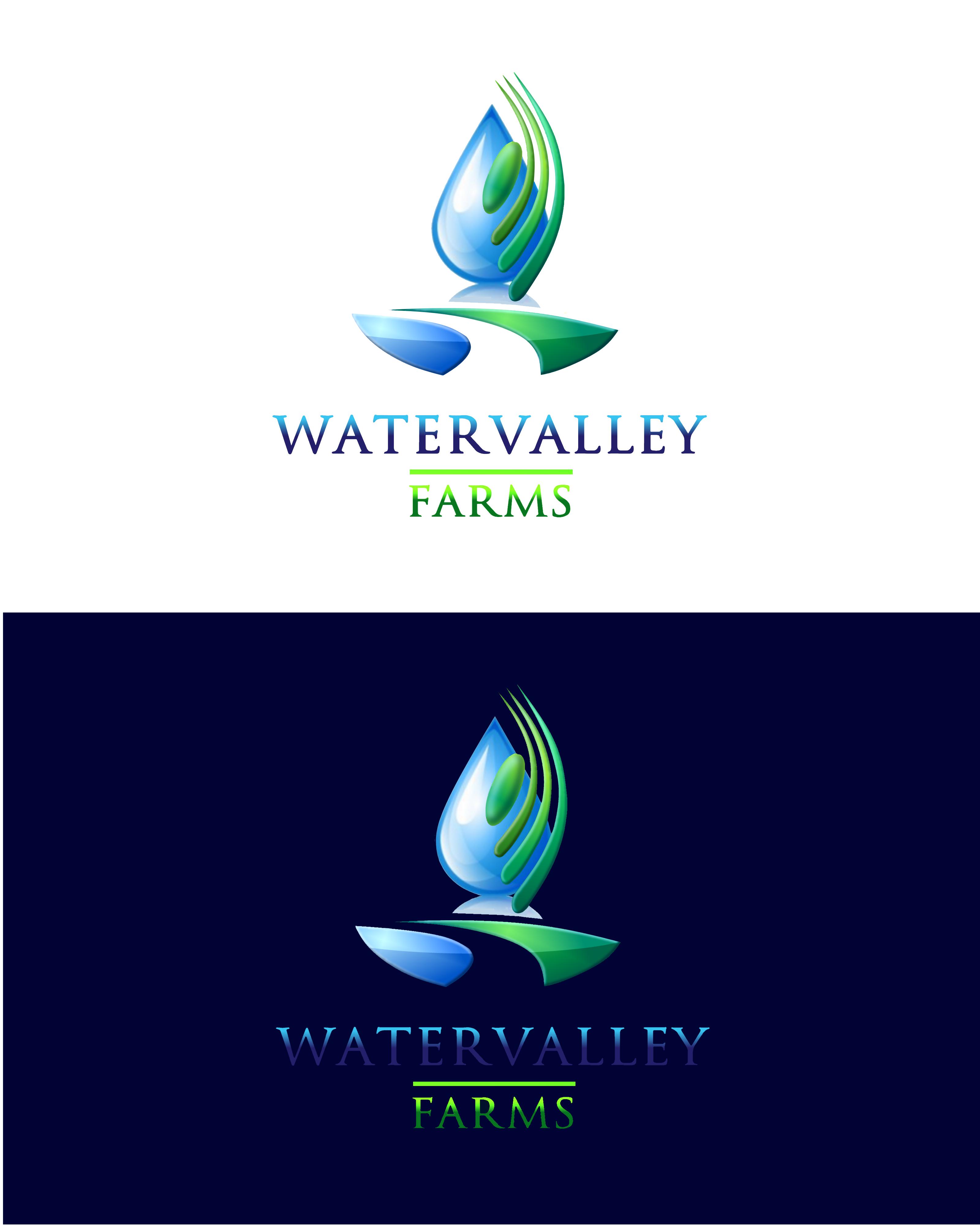 Logo Design by Roberto Bassi - Entry No. 82 in the Logo Design Contest New Logo Design for Watervalley Farms.