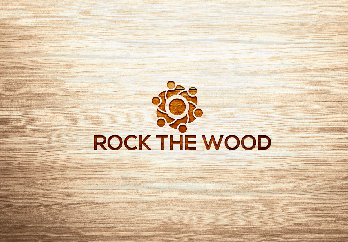 Logo Design by Sinthiya Omar - Entry No. 53 in the Logo Design Contest New Logo Design for Rock the Wood.