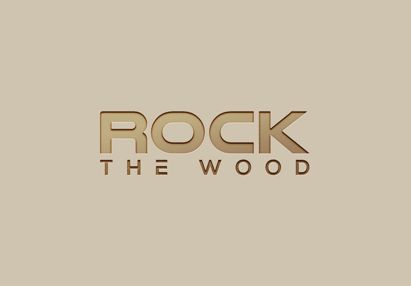 Logo Design by Imtiaz Hossain - Entry No. 57 in the Logo Design Contest New Logo Design for Rock the Wood.