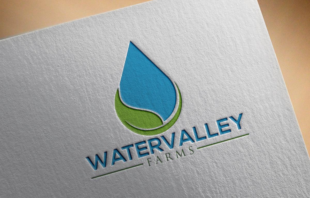 Logo Design by Sinthiya Omar - Entry No. 98 in the Logo Design Contest New Logo Design for Watervalley Farms.