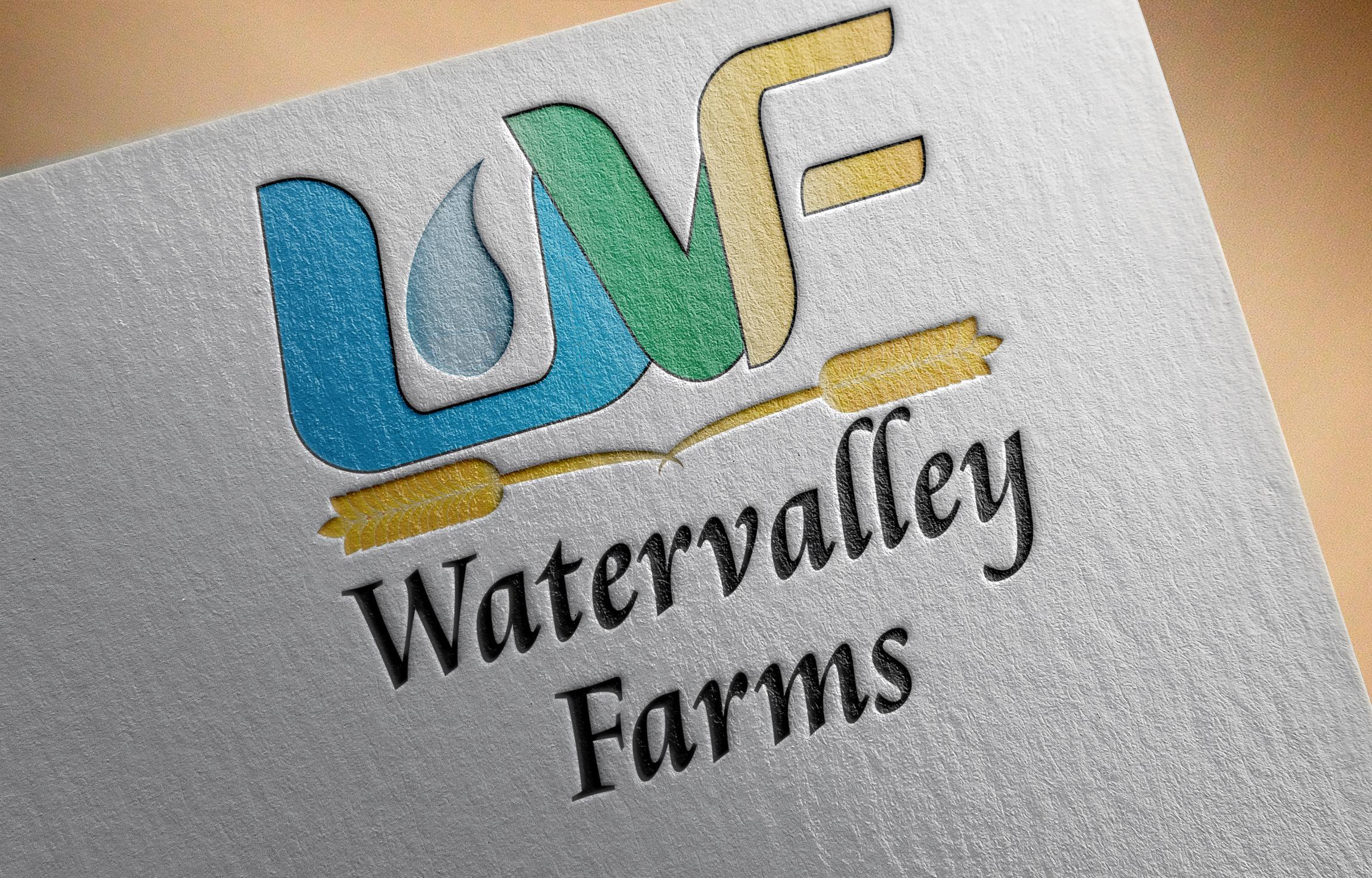 Logo Design by Goran Ledjenovic - Entry No. 104 in the Logo Design Contest New Logo Design for Watervalley Farms.
