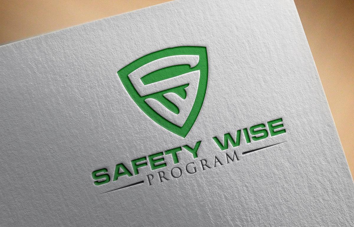 Logo Design by Sinthiya Omar - Entry No. 105 in the Logo Design Contest New Logo Design for Safety Wise Program.