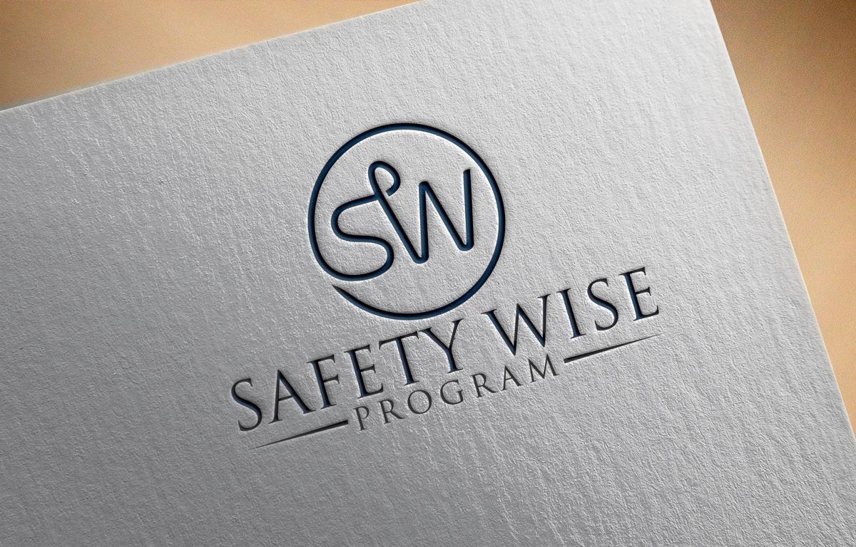 Logo Design by Sinthiya Omar - Entry No. 106 in the Logo Design Contest New Logo Design for Safety Wise Program.