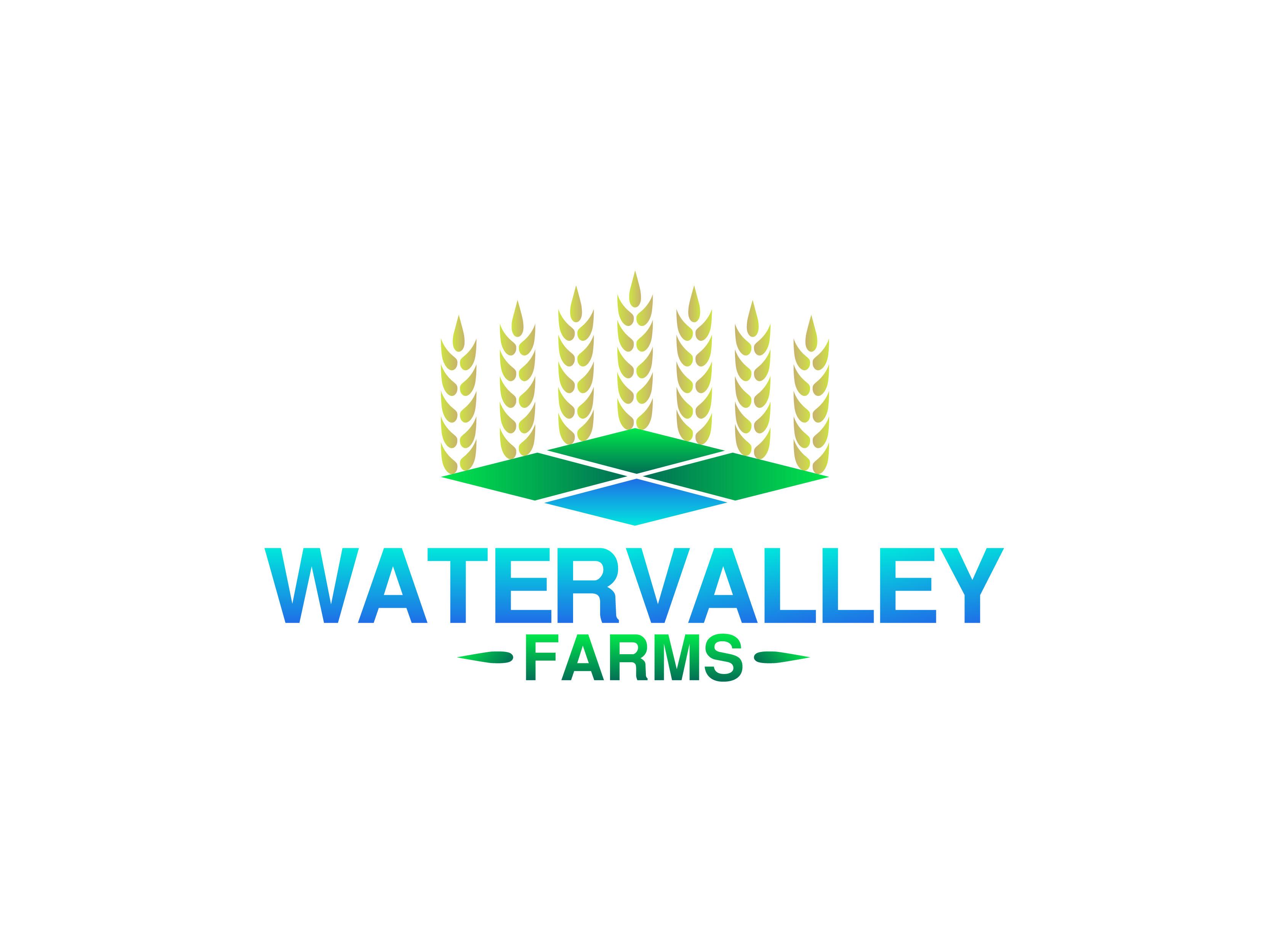Logo Design by Alvin Sarona - Entry No. 105 in the Logo Design Contest New Logo Design for Watervalley Farms.