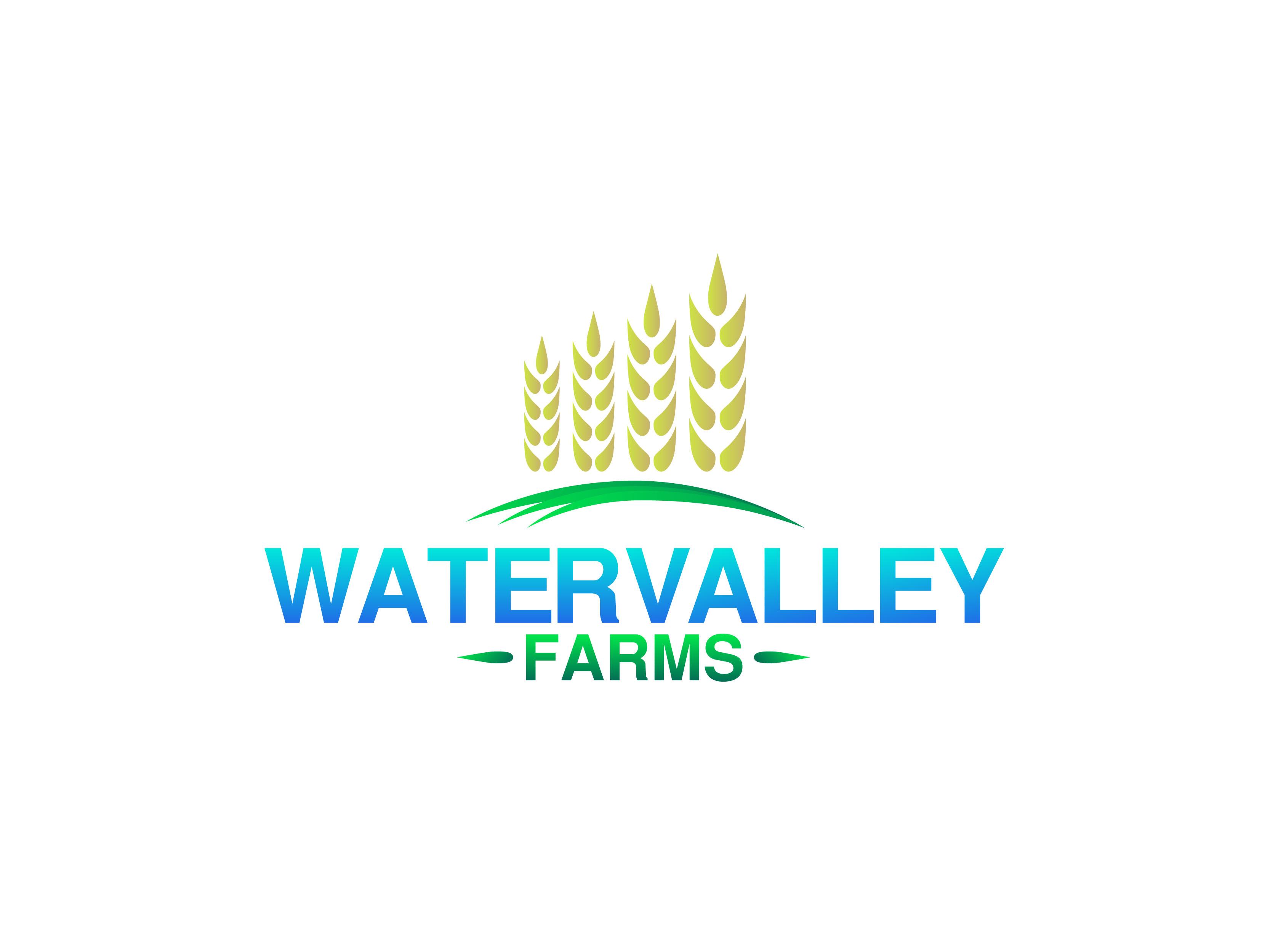 Logo Design by Alvin Sarona - Entry No. 106 in the Logo Design Contest New Logo Design for Watervalley Farms.