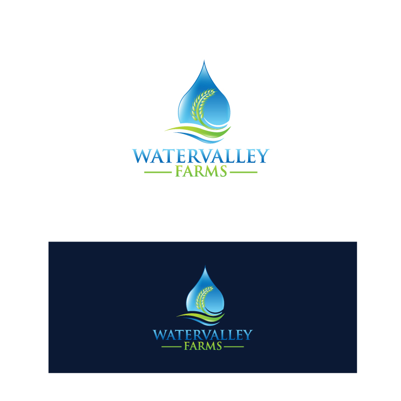 Logo Design by Tauhid Shaikh - Entry No. 107 in the Logo Design Contest New Logo Design for Watervalley Farms.