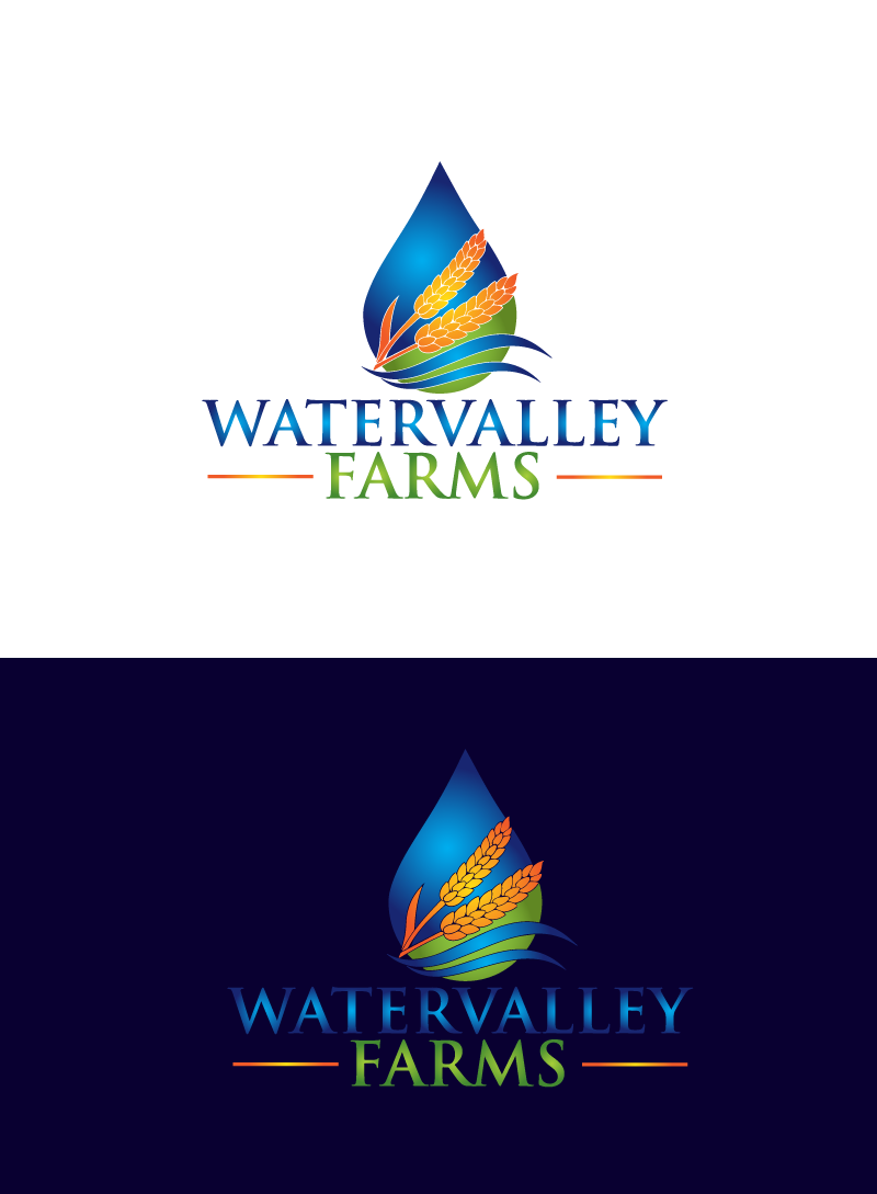 Logo Design by Private User - Entry No. 112 in the Logo Design Contest New Logo Design for Watervalley Farms.