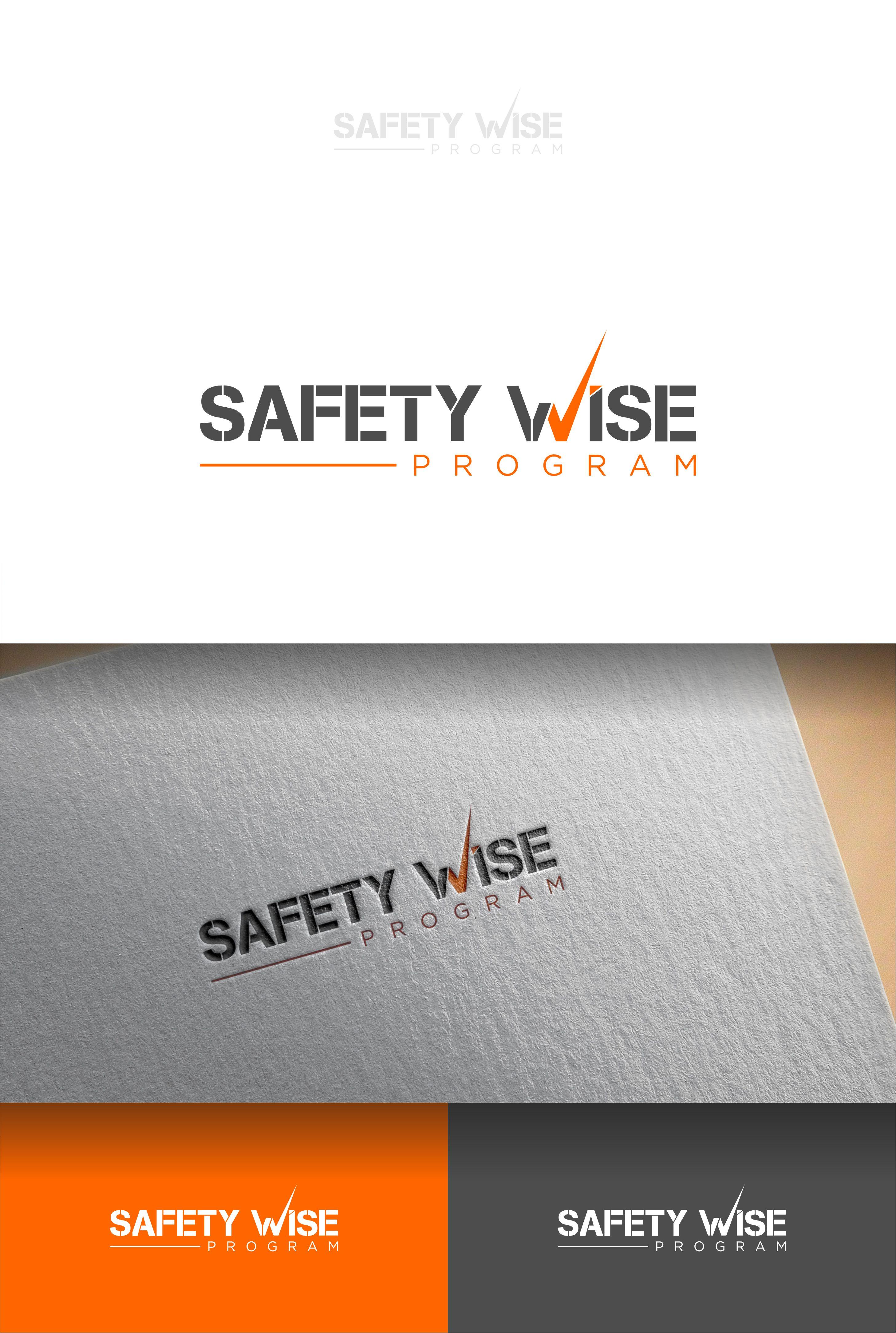 Logo Design by Raymond Garcia - Entry No. 115 in the Logo Design Contest New Logo Design for Safety Wise Program.