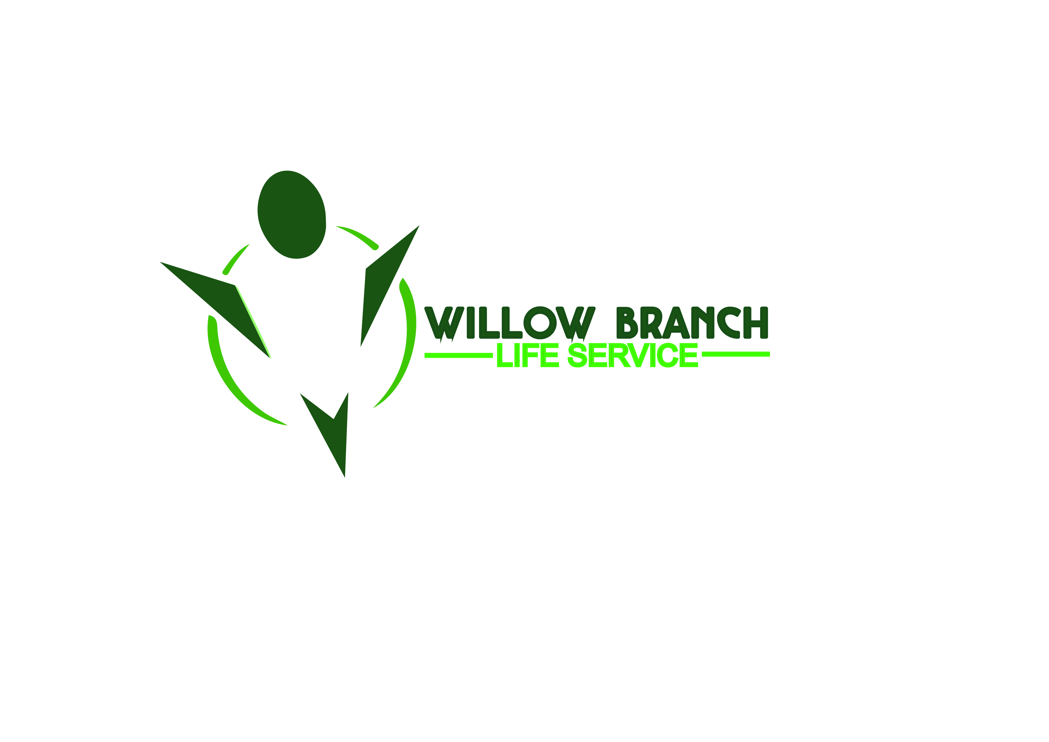 Logo Design by Anum Aamir - Entry No. 6 in the Logo Design Contest Artistic Logo Design for Willow Branch Life Service.