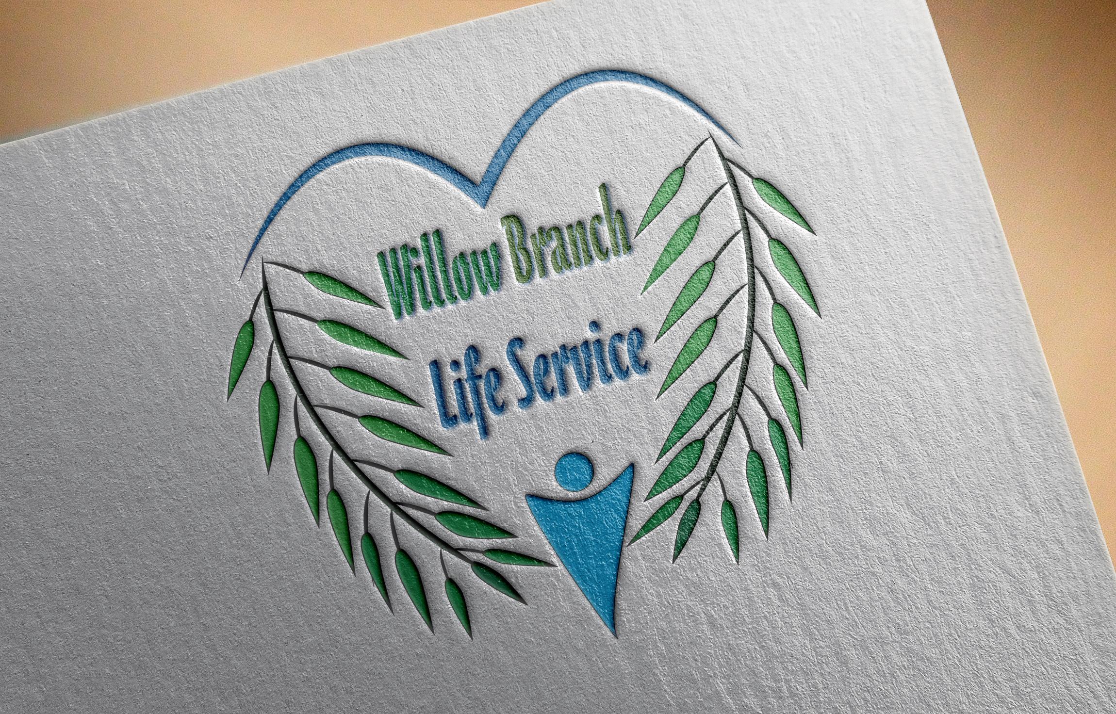 Logo Design by Goran Ledjenovic - Entry No. 10 in the Logo Design Contest Artistic Logo Design for Willow Branch Life Service.