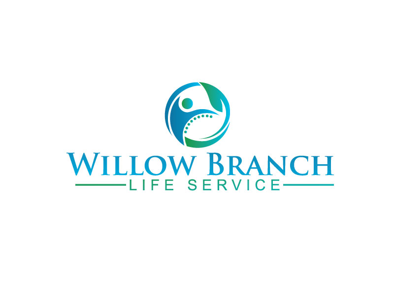 Logo Design by Bahar Hossain - Entry No. 14 in the Logo Design Contest Artistic Logo Design for Willow Branch Life Service.