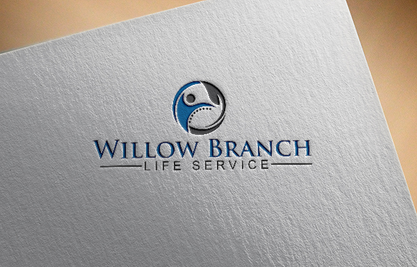 Logo Design by Bahar Hossain - Entry No. 15 in the Logo Design Contest Artistic Logo Design for Willow Branch Life Service.