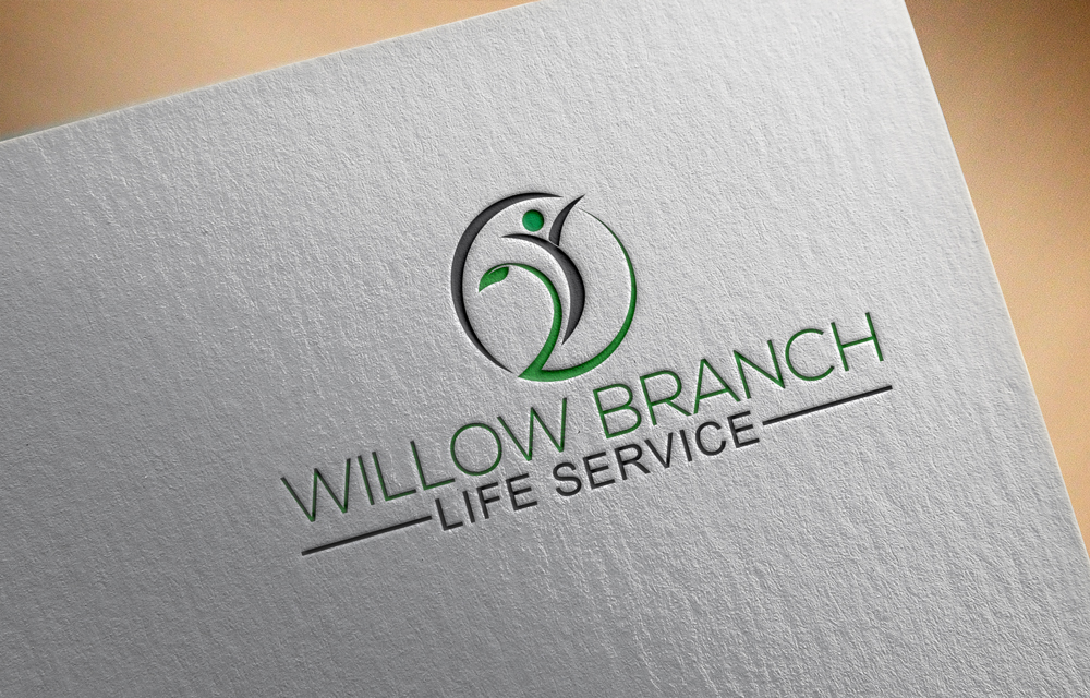 Logo Design by Rased Vai - Entry No. 19 in the Logo Design Contest Artistic Logo Design for Willow Branch Life Service.