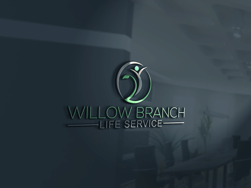 Logo Design by Rased Vai - Entry No. 20 in the Logo Design Contest Artistic Logo Design for Willow Branch Life Service.