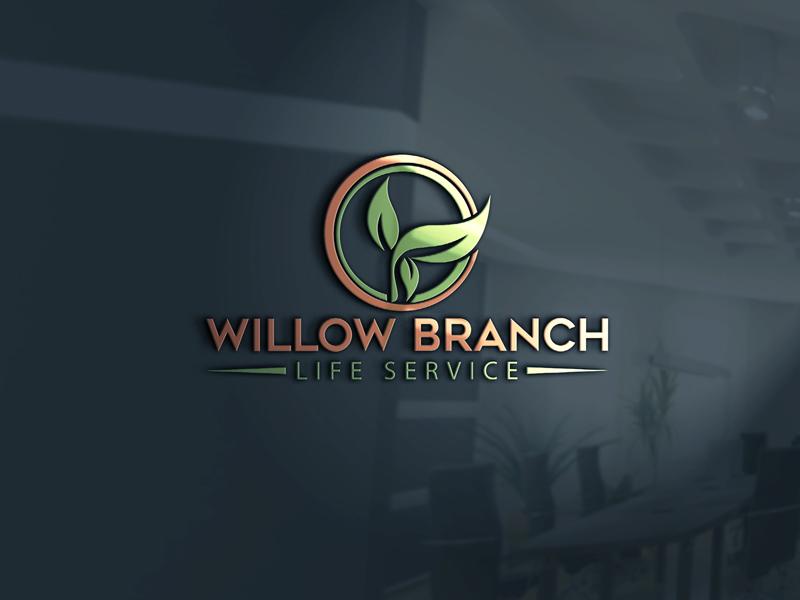 Logo Design by Melton Design - Entry No. 23 in the Logo Design Contest Artistic Logo Design for Willow Branch Life Service.